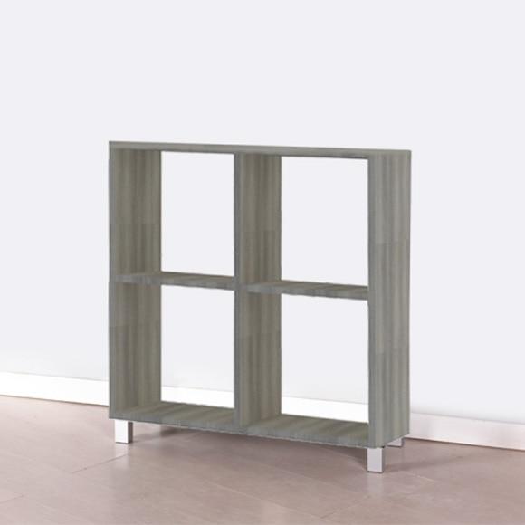 Estanter a mediana 2x2 espesor 22 mm spaceo serie rubick for Alquiler lijadora pared leroy merlin