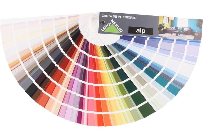 Carta de color para interiores alp carta de color - Colores de pinturas para paredes de salon ...