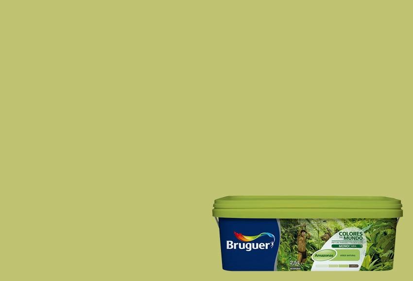 Colores del mundo amazonas verde natural bruguer colores - Bruguer colores del mundo leroy merlin ...