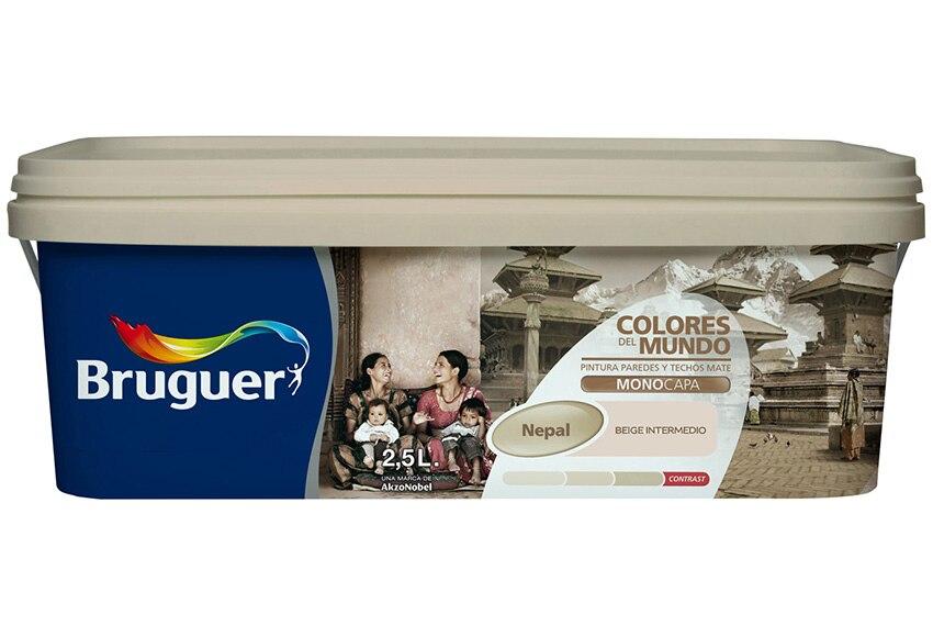 Colores del mundo nepal beige intermedio bruguer colores - Bruguer colores del mundo leroy merlin ...