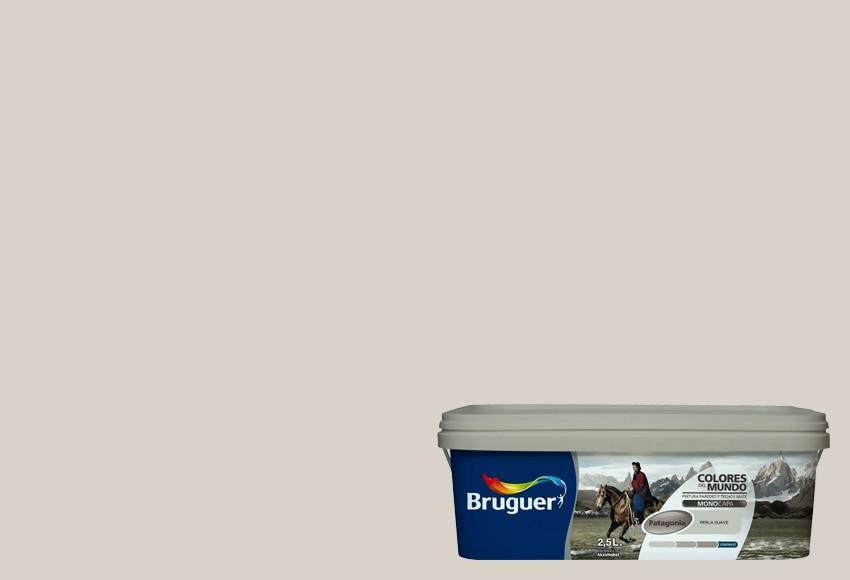 Colores del mundo patagonia perla suave bruguer colores - Bruguer colores del mundo leroy merlin ...