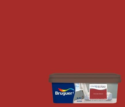 Colores para so ar granate oxfor leroy merlin - Bruguer colores para sonar ...