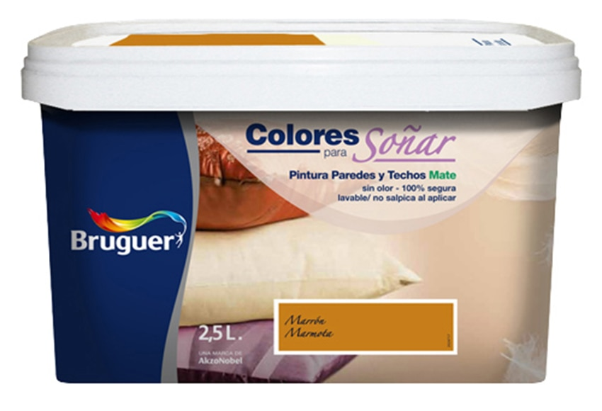 Colores para so ar marron marmota leroy merlin - Bruguer colores para sonar ...
