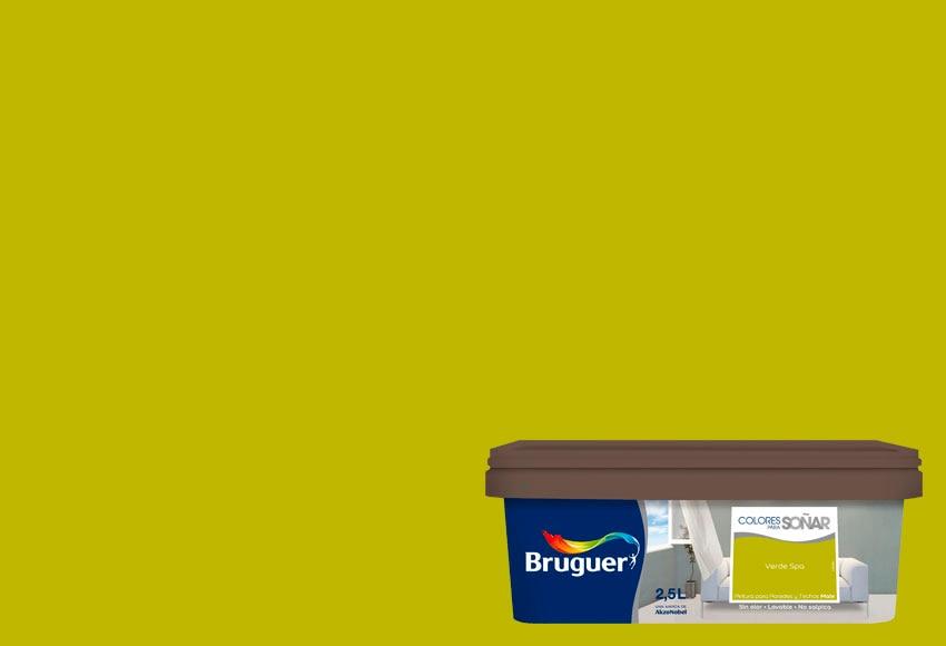 Pintura de color para paredes y techos bruguer colores - Bruguer colores para sonar ...