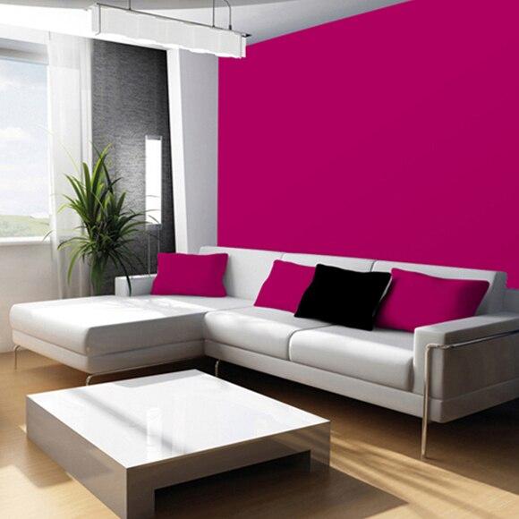 Pintura de color para paredes y techos tit n colors fucsia - Leroy merlin cuadros modernos ...