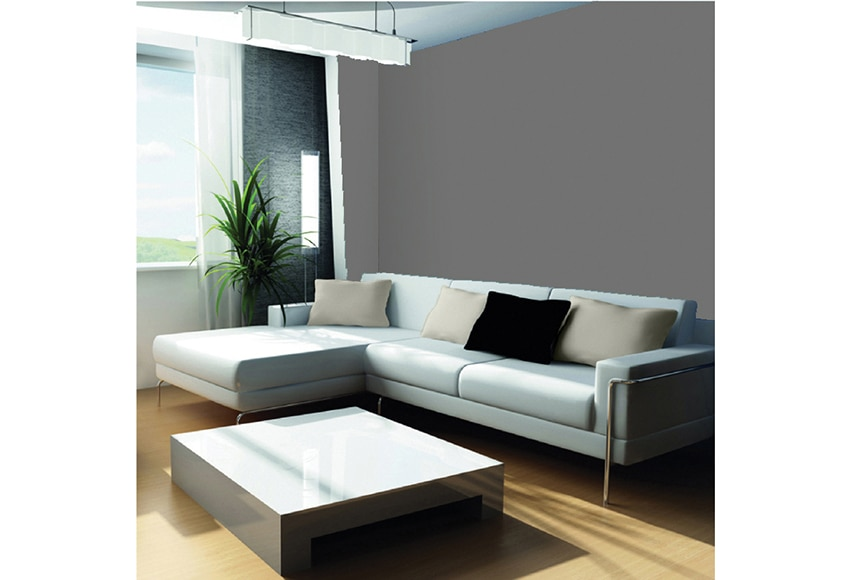 Pintura de color para paredes y techos tit n colors gris for Pintura gris para interiores