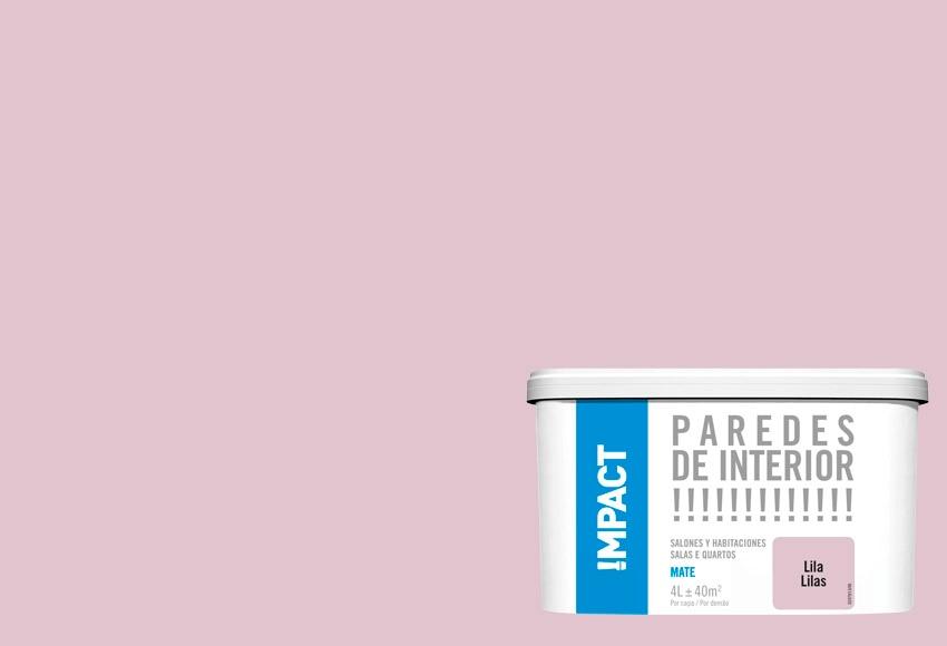 Pintura de color para paredes y techos lila impact ref - Pintura color vison ...