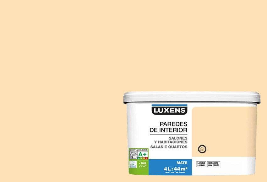 Salones y habitaciones blanco marfil 2 leroy merlin for Gama de colores pintura interior