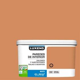 salones y marrn caramelo luxens pintura de interior en color
