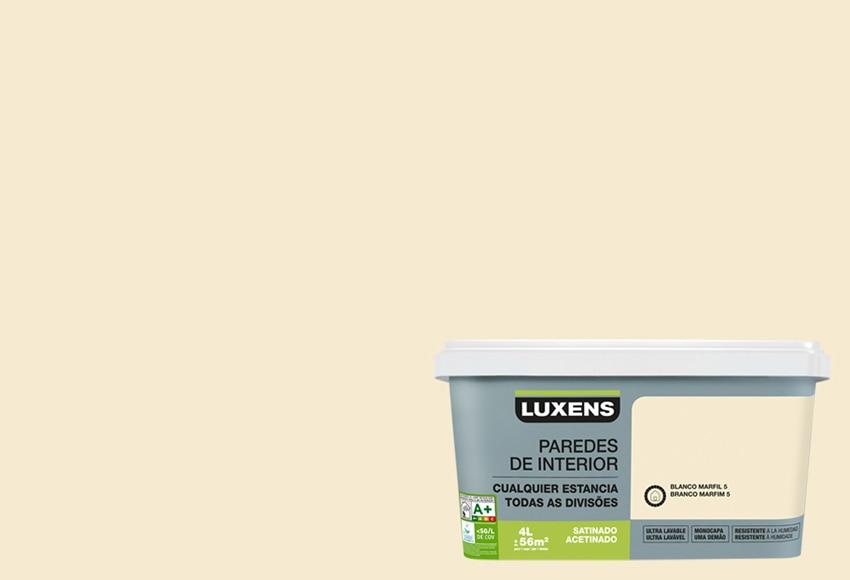 Ultralavable blanco marfil 5 leroy merlin - Pintura color marfil ...