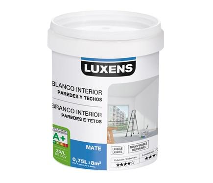 Pintura blanca para interior luxens mate ref 18086922 - Leroy merlin pintura interior ...