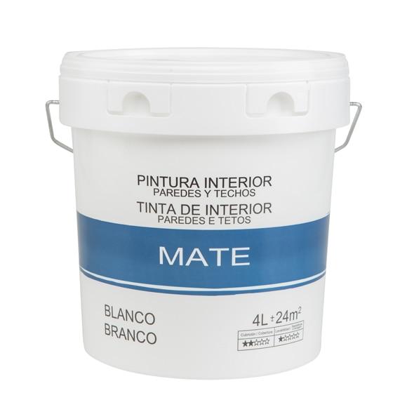 Pintura blanca para interior mate econ mica ref 18086796 - Leroy merlin pintura interior ...