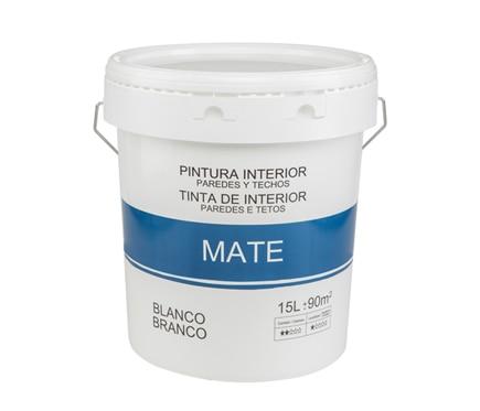 Pintura blanca para interior mate econ mica ref 18086831 - Leroy merlin pintura interior ...