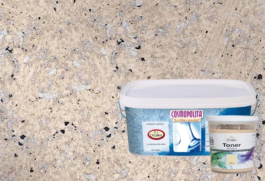 Cosmopolita piedra 6 leroy merlin for Pintura efecto piedra