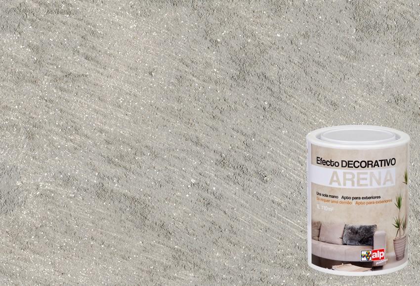 pintura decorativa con efectos alp efecto arena gris plata