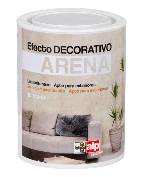 Pintura decorativa con efectos alp efecto arena pistacho - Pintura decorativa efecto arena ...