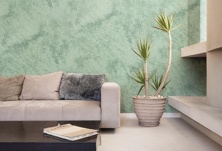 Pintura decorativa con efectos alp efecto arena verde - Pintura decorativa efecto arena ...