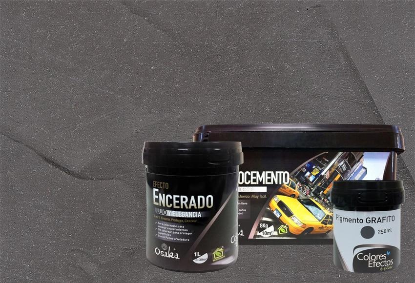 Microcemento leroy merlin boiserie in ceramica per bagno - Como aplicar microcemento ...