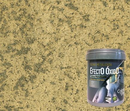 Pintura decorativa con efectos osaka xido metal oro ref - Pintura con efectos ...