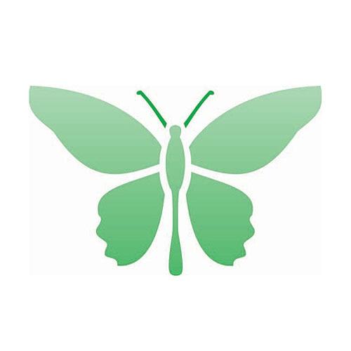 Plantillas para pintar de mariposas en la pared imagui - Plantillas para paredes ...