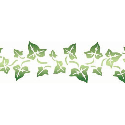 Grecas de hojas imagui - Plantillas cenefas para pintar ...