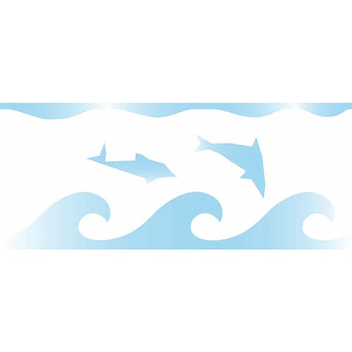 Cenefa decorativa les decoratives n 4 delfines ref - Les decoratives leroy merlin ...