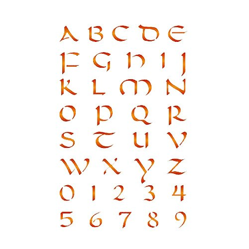 Les decoratives plantilla decorativa n 161 letras for Les decoratives leroy merlin