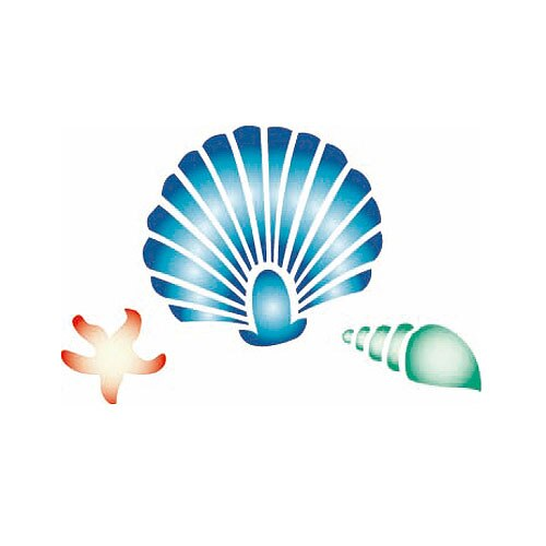 Plantilla decorativa les decoratives n 214 conchas ref - Les decoratives leroy merlin ...