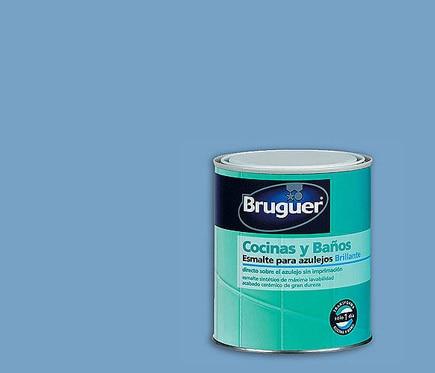 Esmalte sint tico brillante para azulejos akzo azul pacifico brillante ref 13006511 leroy merlin - Esmaltes para azulejos ...