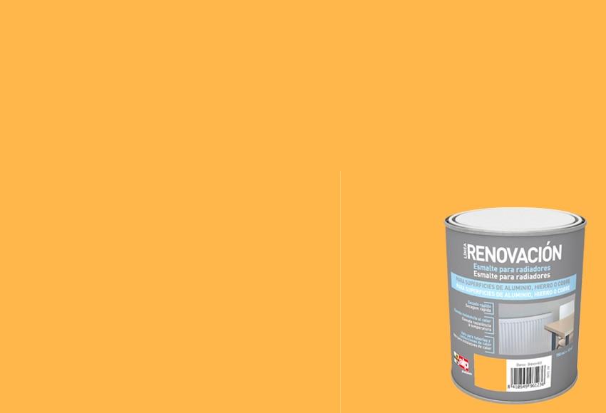 Esmalte sint tico para radiadores alp naranja claro - Pintura para radiadores ...