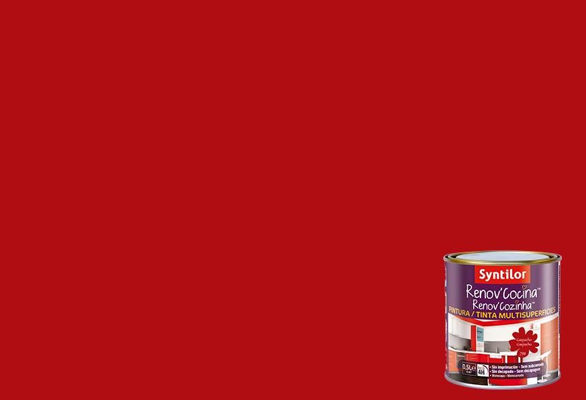 Pintura multisuperficies renovcocina gazpacho ref for Pintura plastica leroy merlin