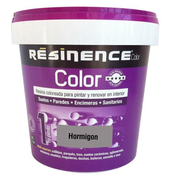 Resina acabado satinado resinence hormig n ref 16762081 for Resina para hormigon