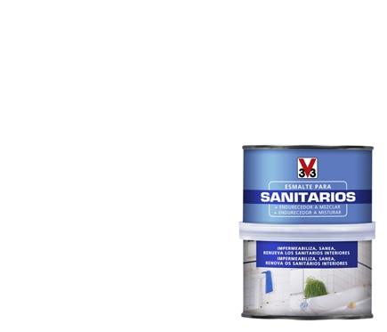 Esmalte Sint Tico Para Sanitarios V33 Sani Blanco