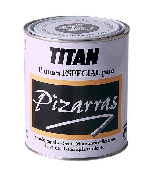 Pintura para pizarra tit n negro mate ref 11433625 - Precio pintura exterior leroy merlin ...
