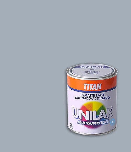 Esmalte laca universal satinado unilak gris perla satinado for Pintura gris perla bruguer