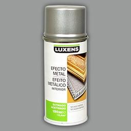 Luxens efecto metal satinado cromo - Aerosol efecto piedra ...