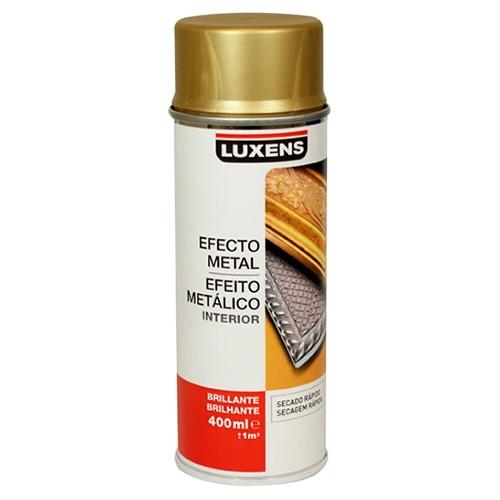 Pintura en spray con acabado metalizado luxens efecto - Spray pintura metalizada ...