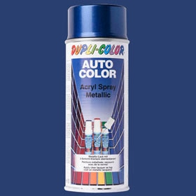 Spray para coches DUPLI COLOR AZUL METALIZADO