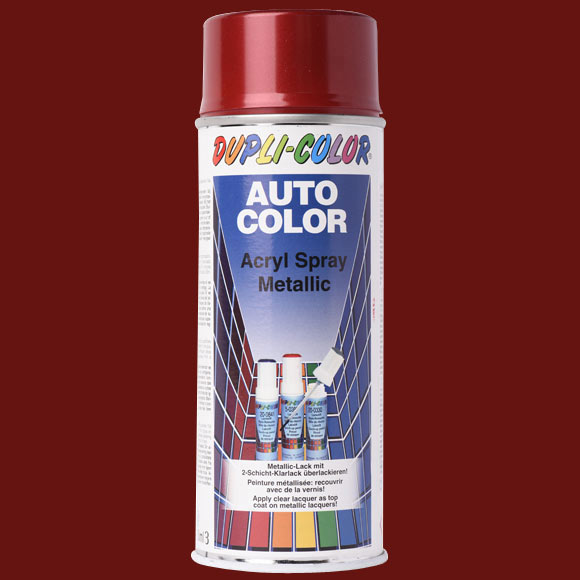 spray para coches dupli color rojo metalizado ref