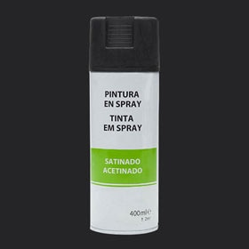 Spray decorativo NEGRO SATINADO