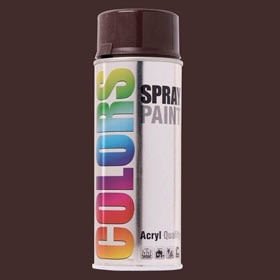 Spray decorativo DUPLI COLOR MARRÓN BRILLANTE