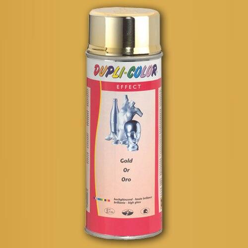Spray dorado brillante