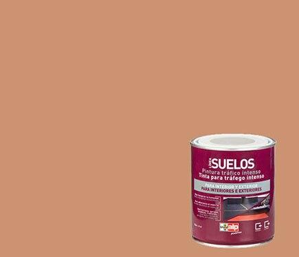 Pintura para suelos alp arcilla ref 14959224 leroy merlin - Pintura para suelos ...