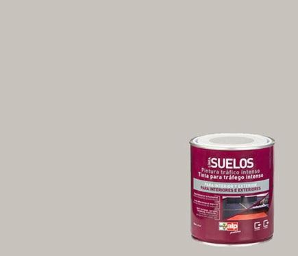 Pintura para suelos alp gris claro ref 14959245 leroy for Suelo gris claro