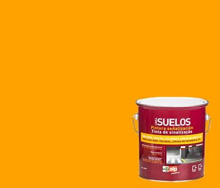 Pintura para suelos alp se alizaci n amarillo ref for Pintura plastica leroy merlin