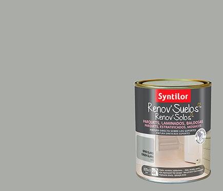 Pintura para suelos gris claro ref 17526005 leroy merlin for Pintura gris claro