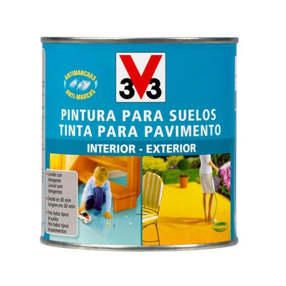 Pintura para suelos v33 verde ref 13812295 leroy merlin - Pinturas para suelo ...
