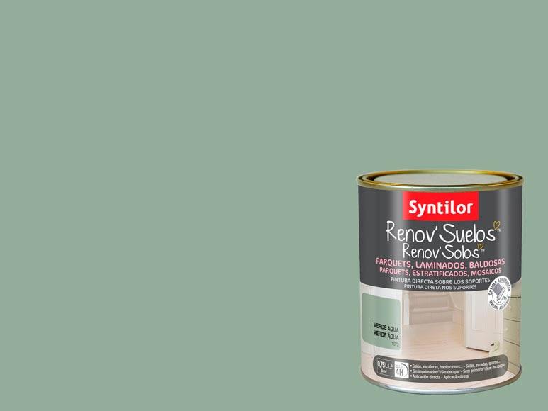 Pintura para suelos verde agua ref 17526075 leroy merlin - Pintura vintage leroy merlin ...