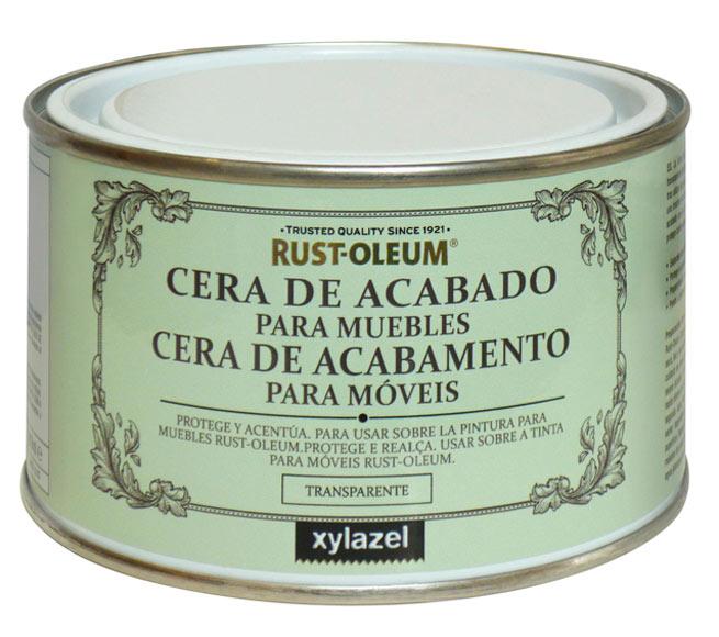 Cera de acabado para muebles 400 ml rustoleum cera de for Cera para muebles de madera