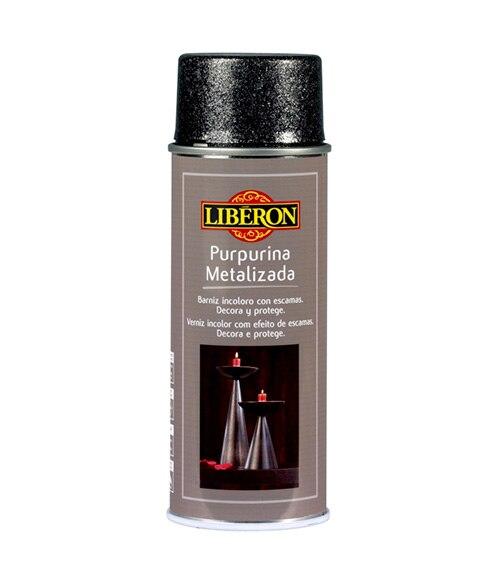 Spray para muebles lib ron spray purpurina metalizada oro - Spray pintura metalizada ...